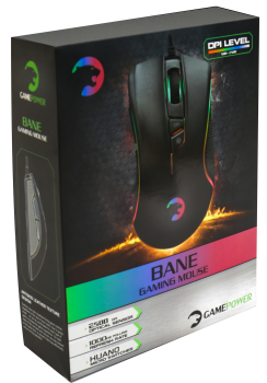 GAMEPOWER BANE GAMING OPTIK MOUSE USB SİYAH