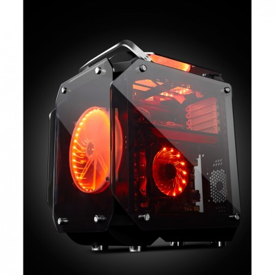 GAMEPOWER HELIOS GAMING TEMPERED GLASS MID ATX KASA