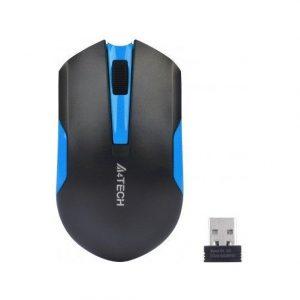 A4 Tech G3 200N V Track Siyah Mavi Kablosuz Mouse