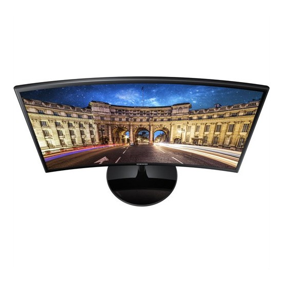 "Samsung LC24F390FHMXUF 23.5"" 4ms (Analog+HDMI) Full HD FreeSync Curved Monitör"