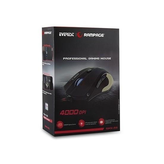 Rampage SMX-R5 Usb Mat Metal 4000 Dpi Oyuncu Makrolu Oyuncu Mouse