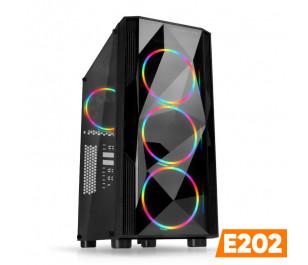 Dark E202 AMD Ryzen 5 1600 3.2GHz, RX570 4GB, 8GB Ram